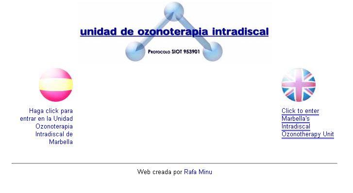 Unidad de Ozonoterapia Intradiscal