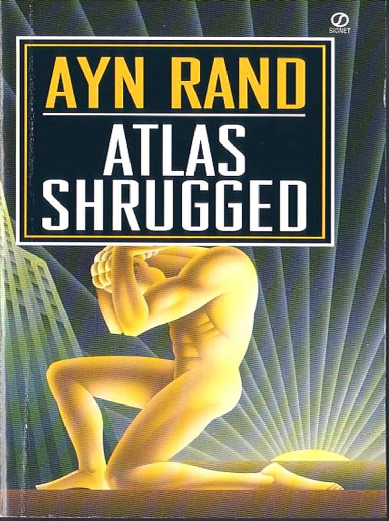 Atlas Shrugged. Ayn Rand. SIGNED!!1 10th Anniversary Edition. LTD. #911/2K.