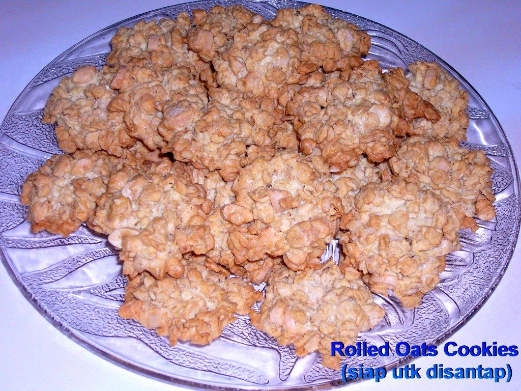 biskut oats bahan bahan 375 gm 1 ½ buku mentega 1 sudu teh vanilli 6 ...
