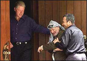 bill clinton peace maker of the middle east