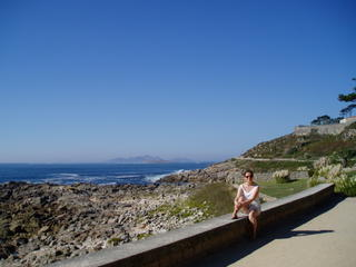 Coastal path (Islas Cies in background)