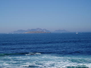 Islas Cies from Bayona