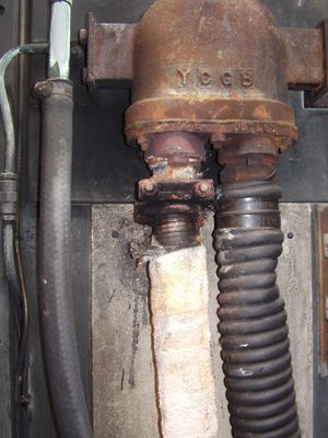 Troublesome exhaust