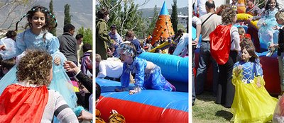 purim festival, dressed up kids, children in purim costumes, masquerade, purim fancy ball,purim procession, Israel