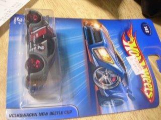Hot Wheels Volkswagen Beetle Cup