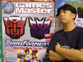 On behalf of Transformers Philippines heres Azrael's way of saying THANK YOU to Games Master.