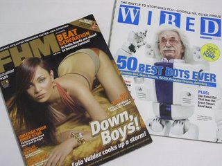 Choose FHM or WIRED?