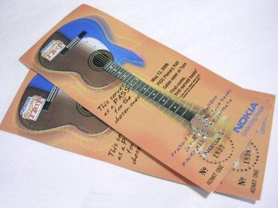 Nokia Sound Trip Tickets.