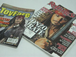 Magazines featuring Pirates of the Caribbean 2.