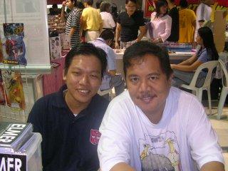 Me & Gerry Alanguilan.