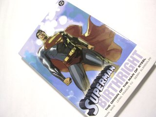 Superman Birthright hardcover edition.