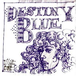 Destiny Blue, Issue 01, Cover