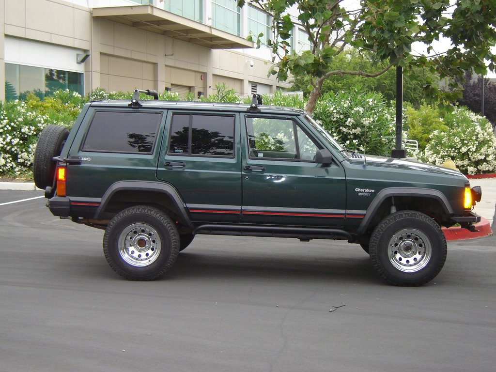 1993 Jeep Cherokee Upgrade Projects  Sweat Equity