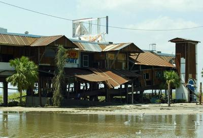 After hurricane katrina hit the gulf coast on aug 29 2005 for Felixs fish camp