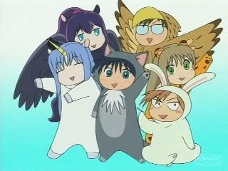BLACK HOLE REVIEWS: DAMEKKO DOUBUTSU (2005) Useless Animals - nutty anime