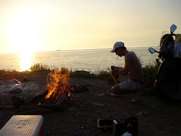 bbq @ garbage beach