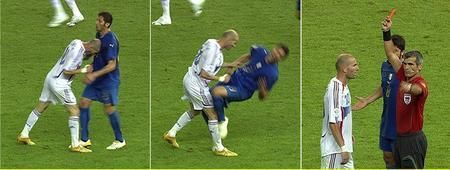 butthead zidane's head butt