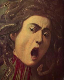 Caravaggio, Testa di medusa