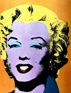 Marilyn vista da Andy Warhol