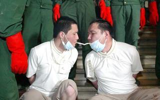 CINA ultima sigaretta ai condannati