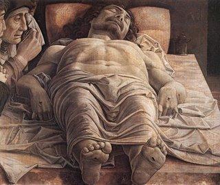 Mantegna - Cristo morto