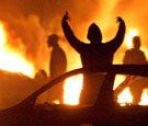 incendi nella periferia parigina