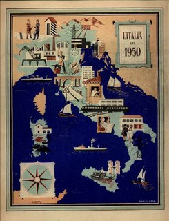 vecchia carta d'Italia