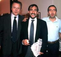da sinistra Altero Matteoli, Ignazio la Russa e Maurizio Gasparri