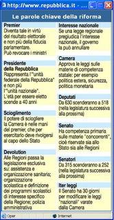 riforma in 10 parole - repubblica.it