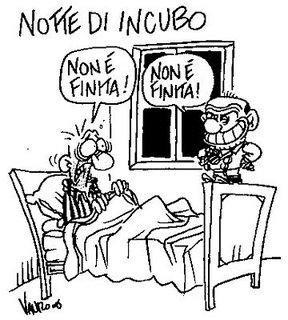 vignetta di Vauro sul Manifesto