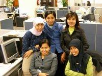 Mba Yanti, Iye, Mba Juliawati, Maya & me