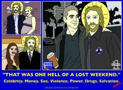 Clooney and Jesus