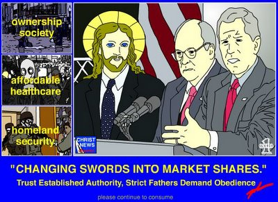 Changing Swords Into Market Shares