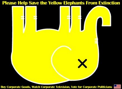 dead yellow elephants