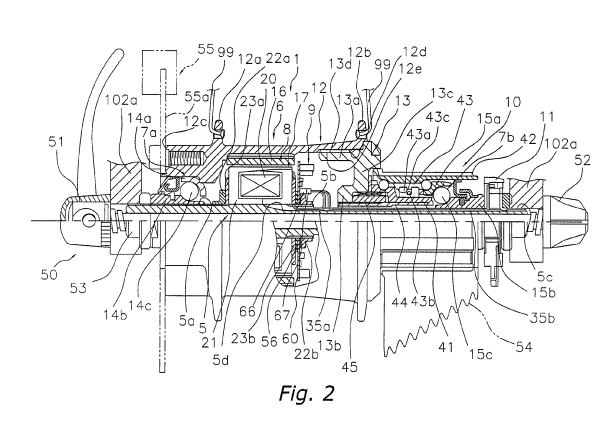 bicycle tech  shimano electrical generator hub patent