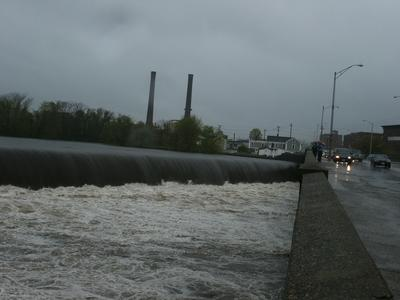 Falls Bridge Lawrence, G. Percy