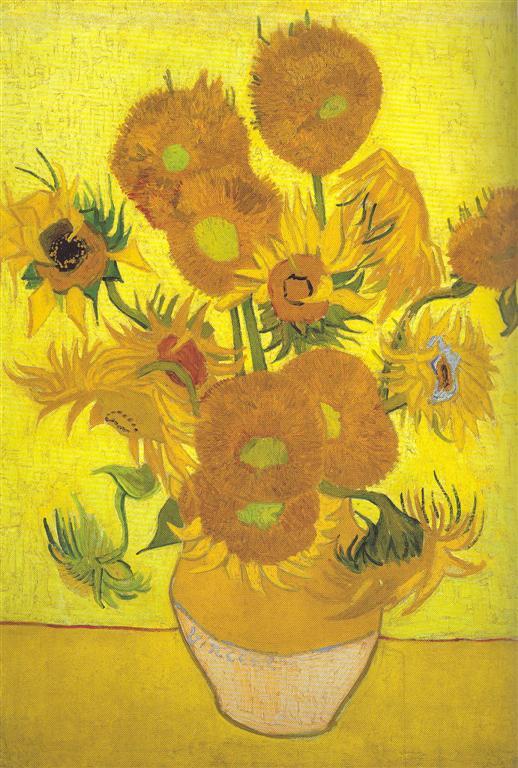gabrielas tagebuch vierzehn sonnenblumen in einer vase. Black Bedroom Furniture Sets. Home Design Ideas