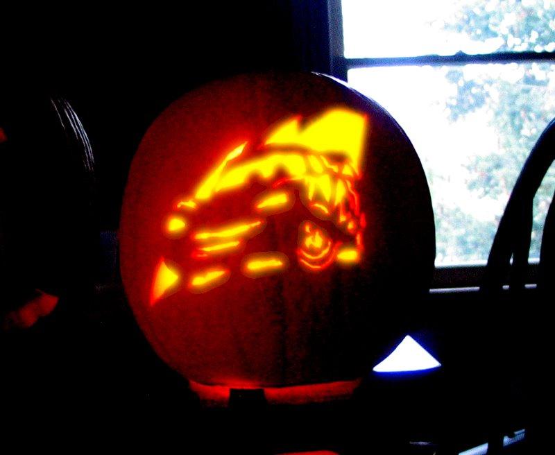 J Chad Erekson Pumpkin Carving