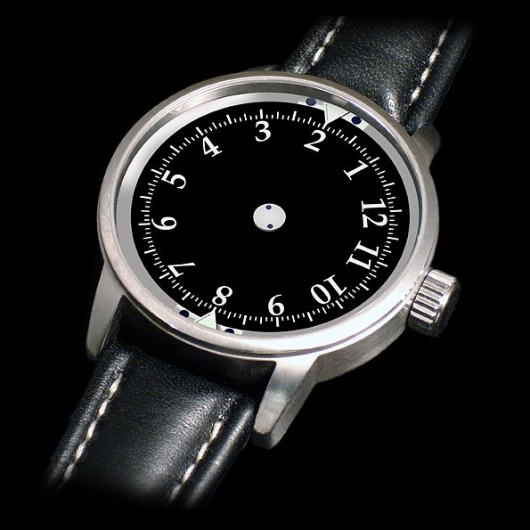 Black Handwatch Photo
