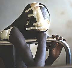 Los niños son las principales víctimas en Uganda