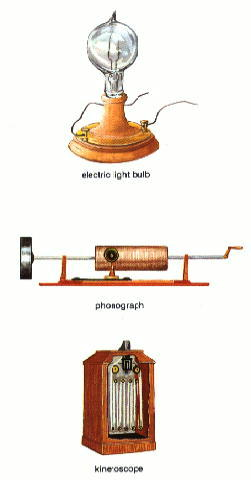 the inventions of thomas edison Though thomas edison is usually credited with the invention of the light bulb, the famous american inventor wasn't the only one who contributed to the development of this revolutionary technology.