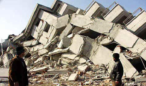 Resultado de imagen para edificio desplomandose