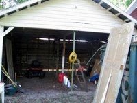 The Carport: After Dejunking
