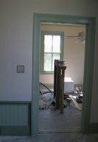 Hallway to Homeschool Room After