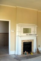 After Master Bedroom Fireplace