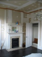 Before Master Bedroom Fireplace