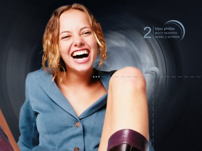 Bijou Phillips - Multi talented American Actress, singer and model.