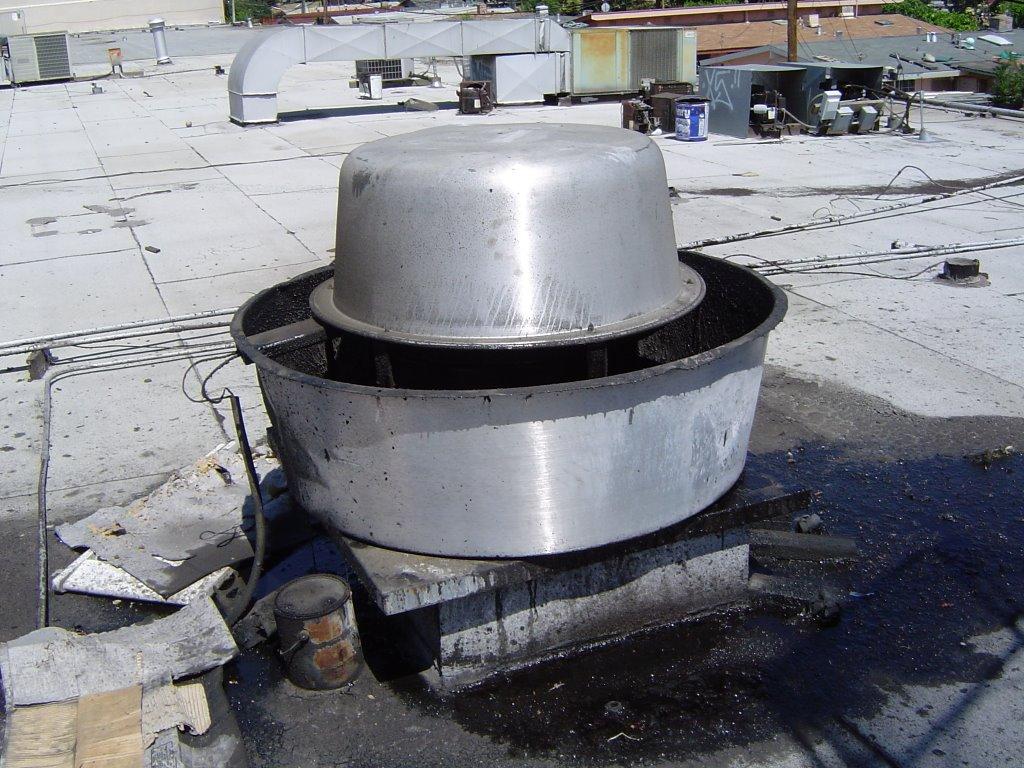 HVAC Heating Ventilation Air Conditioning June - Kitchen hood exhaust fan
