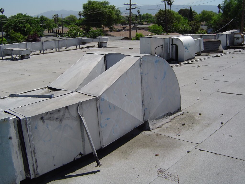 Rooftop Units Duct : Hvac heating ventilation air conditioning july