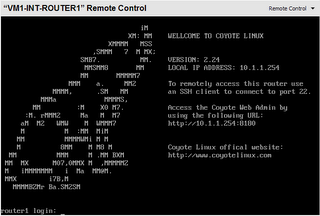 Coyote Linux Router